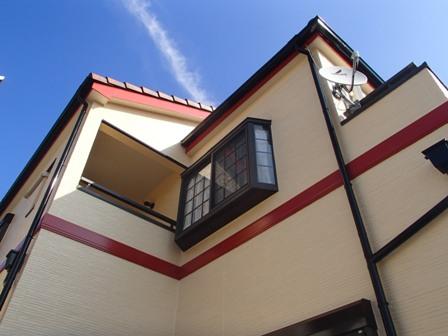 池田市外壁塗装 11月になりました。