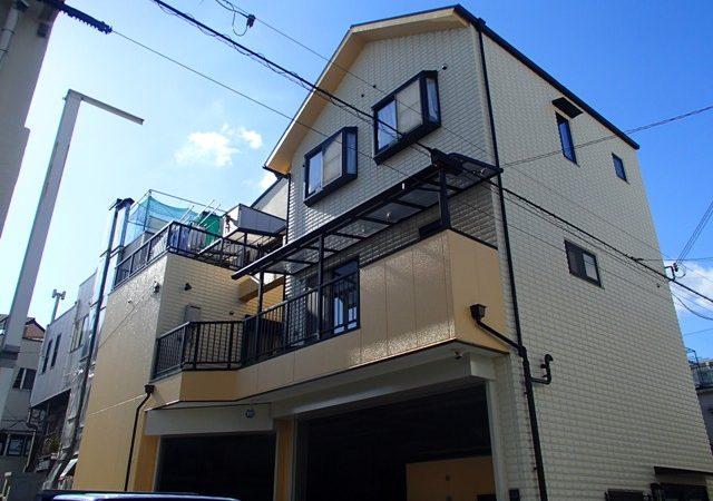 12月になりました。大阪府外壁塗装